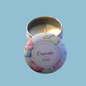 Accents - THREE scented candles